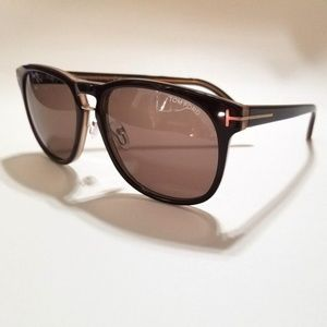 New Authentic Splendid Tom Ford Brown Sunglasses